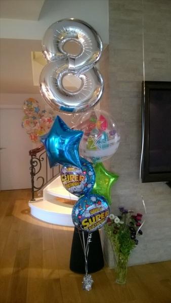 Bukiet balonów z helem