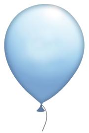 151 niebieski błękitny
