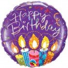 "18"" / 46cm Birthday Party Candles Qualatex #34802"