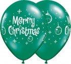 "11"" / 28cm Merry Christmas Ornaments Qualatex"