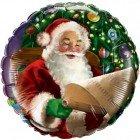 """18"""" / 46cm Santa's Christmas List Qualatex #32343"""
