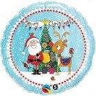 "18"" / 46cm Rachel Ellen - Santa & Rudolph Qualatex #54141"