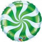 "18"" / 46cm Candy Swirl Green Qualatex #64333"