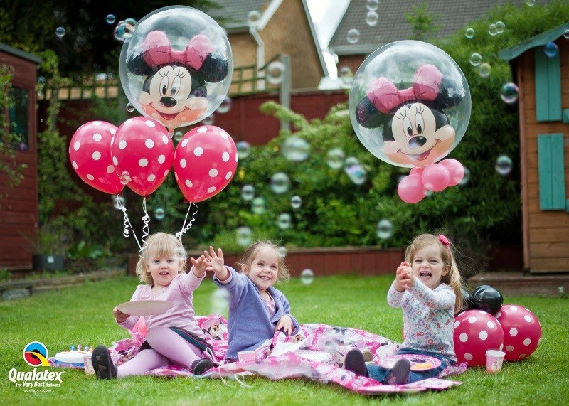 balony bubbles