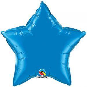 "20"" / 51cm Solid Colour Star Sapphire Blue Qualatex #99603"