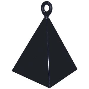 150g 12ct / 12szt. Black Pyramid Weight #14428