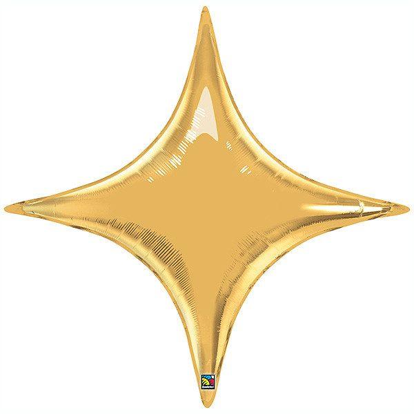 Starpoint Metallic Gold Qualatex