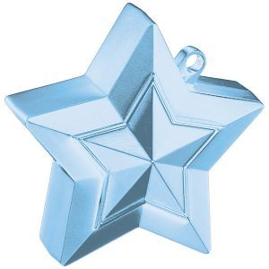 150g Star Balloon Weights Pearl Light Blue #38801
