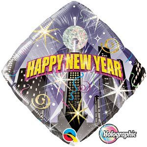 "18"" / 46cm New Year Party Countdown Qualatex #54149"