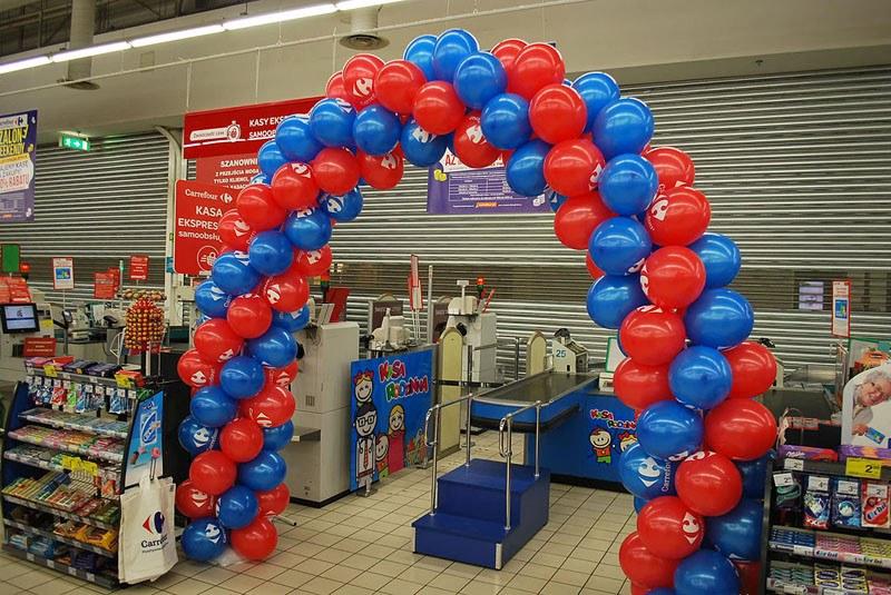Brama balonowa kasa rodzinna