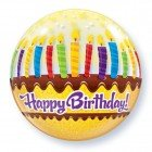 "22"" / 56cm Birthday Candels & Frosting Qualatex #10398"