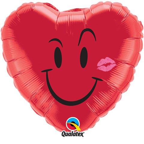 18″ / 46cm Naughty Smile & A Kiss Qualatex #10937