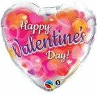 "18"" / 46cm Valentine's Hearts Aglow Qualatex #11257"