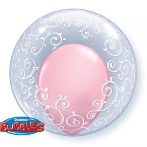 "24"" / 61cm Deco Bubble Fancy Filigree Qualatex #13693"