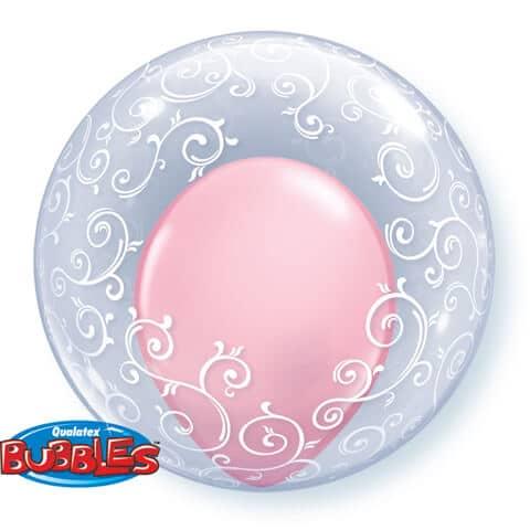 "24"" / 61cm Deco Bubble Fancy Filigree Qualatex #13693"