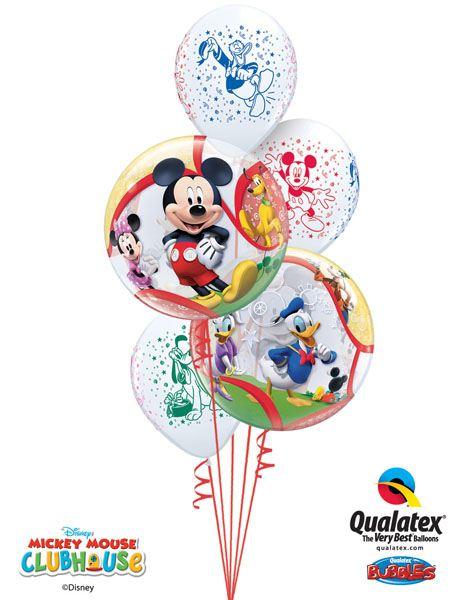 Bukiet 4# – 22″ / 56cm Disney Mickey & His Friends Qualatex #41067_2, 18688_2