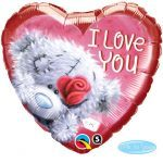 "18"" / 46cm Me to You Tatty Teddy I Love You Qualatex #20811"