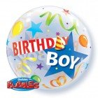 "22"" / 56cm Birthday Boy Party Hat Qualatex #27510"