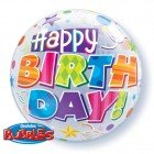 "22"" / 56cm Birthday Party Patterns Qualatex #30808"