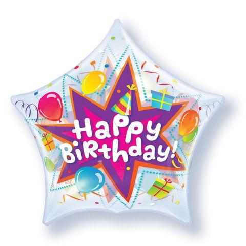 "22"" / 56cm Birthday Party Blast Qualatex #36765"