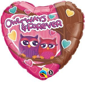 "18"" / 46cm Owi-Ways & Forever Qualatex #40122"