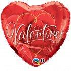 """18"""" / 46cm Valentine Romantic Rose Qualatex #40857"""
