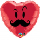 "18"" / 46cm Mr. Mustache Qualatex #60066"