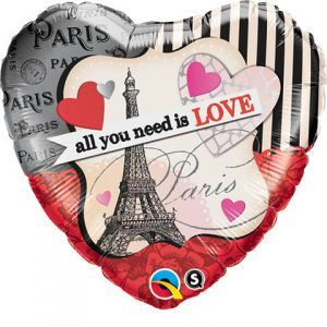 "18"" / 46cm All You Need Is Love Qualatex #65096"