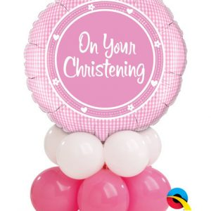 "Bukiet 6# - 18"" / 46cm On Your Christening Girl #14439, 47277, 47354"