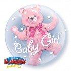 "24"" / 61cm Baby Pink Bear Qualatex #29488"