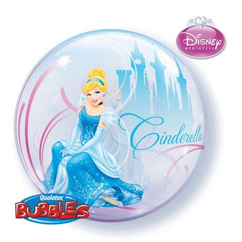 "22"" / 56cm Disney Cinderalle's Royal Debut Qualatex #41192"