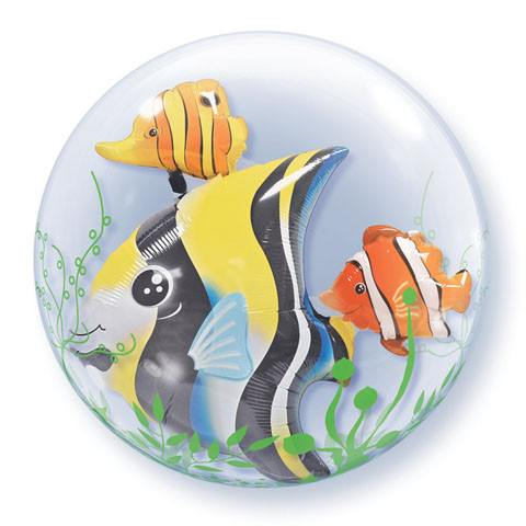 "24"" / 61cm Seaweed Tropical Fish Qualatex #68809"