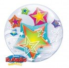 "24"" / 61cm Multicolored Stars Qualatex #11962"