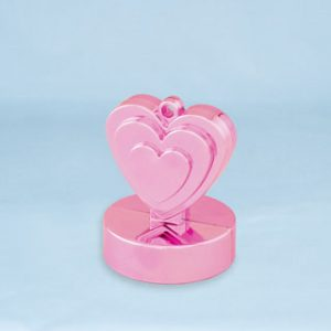150g Heart Shaped Weight Pearl Pink