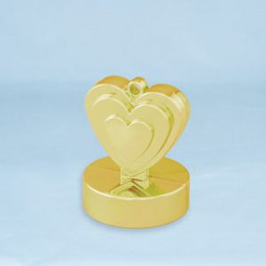 150g Heart Shaped Weight Gold #12479