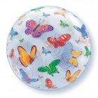 """22"""" / 56cm Butterflies Qualatex #15607"""