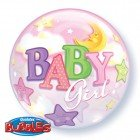 Balony Bubbles Baby