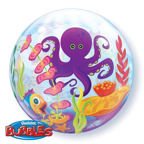 """22"""" / 56cm Fun Sea Creatures Qualatex #27499"""