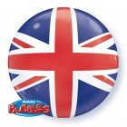 "22"" / 56cm Union Jack Qualatex #35450"