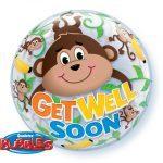 "22"" / 56cm Get Well Monkeys Qualatex #66090"