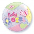 "22"" / 56cm Baby Girl Airplanes Qualatex #69729"