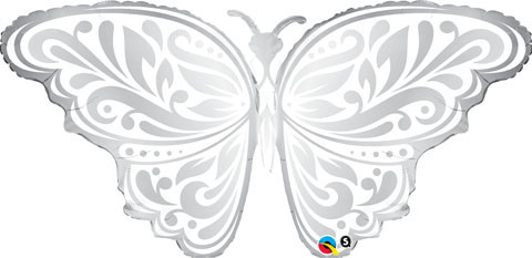 "44"" / 111cm Wedding Butterfly Qualatex #17091"