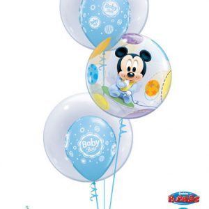 "Bukiet 30# - 22"" / 56cm Disney Baby Mickey Qualatex #16432, 68825_2, 17803_2"