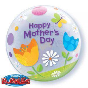 "22"" / 56cm Mother's Day Fantasy Tulips Qualatex #25192"