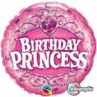 "18"" / 46cm Birthday Princess Qualatex #34805"