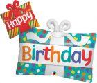 "39"" / 99cm Happy Birthday Presents Qualatex #49391"