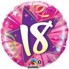 """18"""" / 46cm 18 Shining Star Hot Pink Qualatex #24002"""