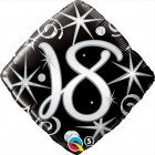 "18"" / 46cm 18 Elegant Sparkles & Swirls Qualatex #29993"