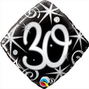 "18"" / 46cm 30 Elegant Sparkles & Swirls Qualatex #30007"