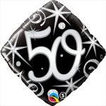 "18"" / 46cm 50 Elegant Sparkles & Swirls Qualatex #30017"